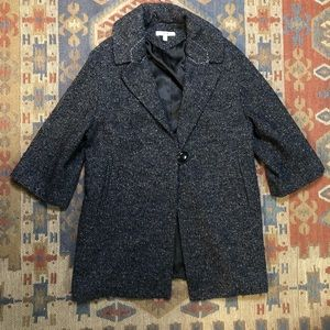 Cabi blazer jacket tweed black size XS